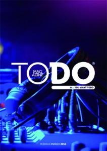 Copertina TODO Mag. Febbraio-Marzo 2013