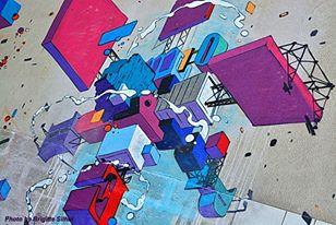 Primo muro a Vitry Giugno 2013 - Photo by Brigitte Silhol