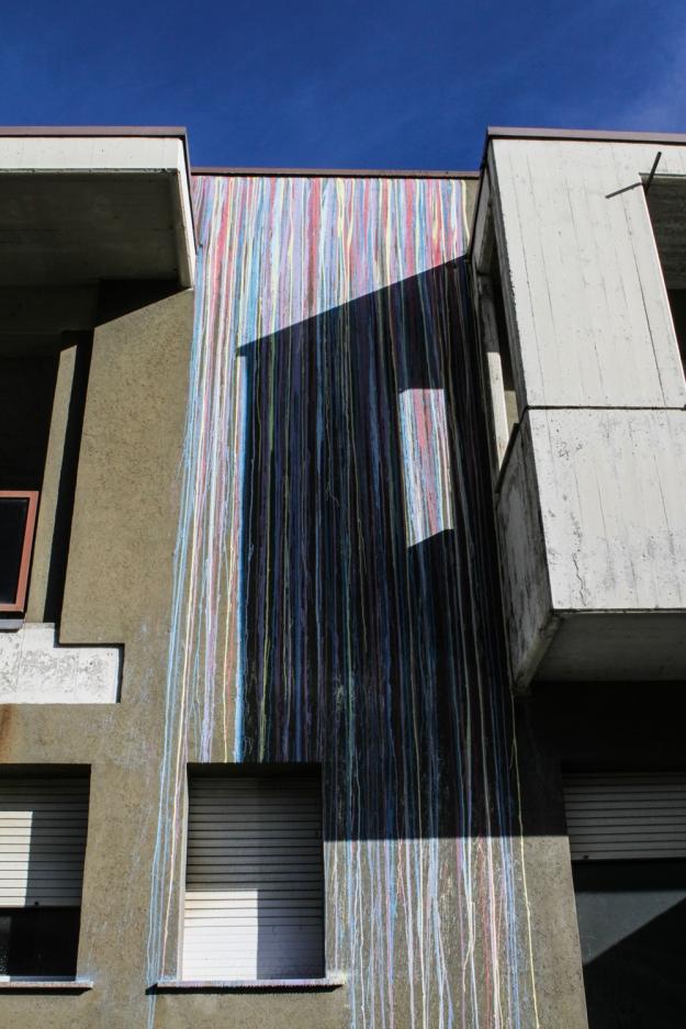Opiemme - muro esterno ex carcere Tirano Photo by Livio Ninni Photographer