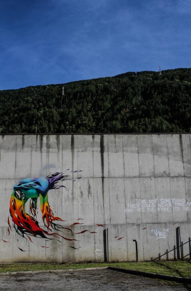 Skià - muro esterno ex carcere Tirano Photo by Livio Ninni Photographer