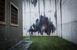 Corn79 - muro esterno ex carcere Tirano Photo by Livio Ninni Photographer