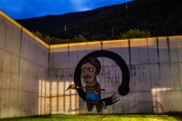 SeaCreative - muro esterno ex carcere Tirano Photo by Livio Ninni Photographer