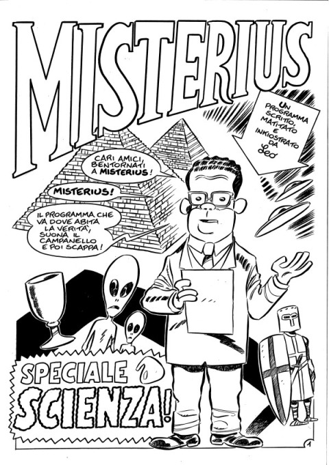 """""""Misterius"""" Leo Ortolani"""