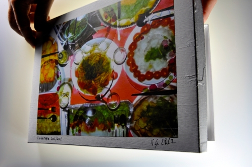 Multi Book – video frames book of artist _Tavola Italiana 2001_Giacomo Verde