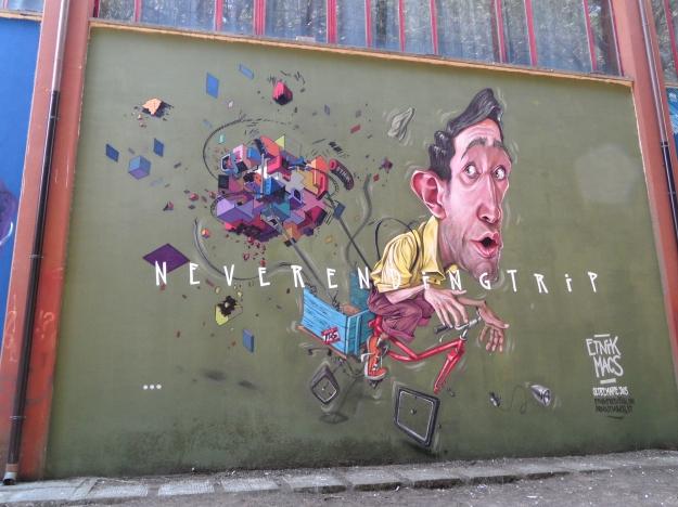 """Etnik+Macs """"Never Ending Trip"""" 2013 Oltremare Street Art Festival Grosseto"""