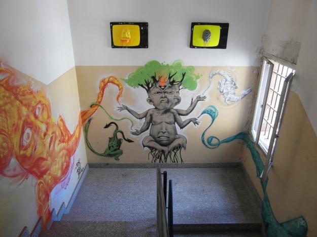Installazioni parete di Urbansolid - Murales di Tenia