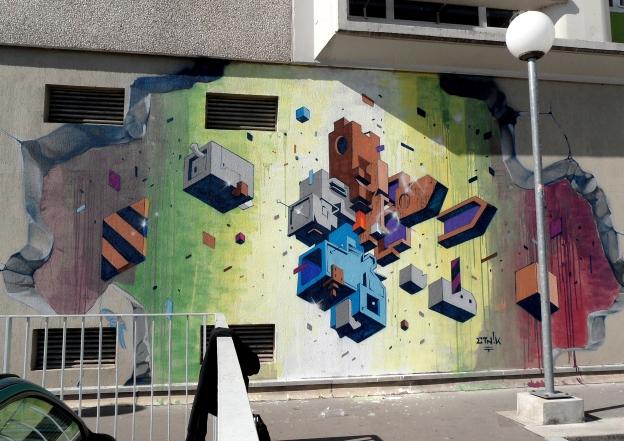 Secondo muro a Vitry 2013