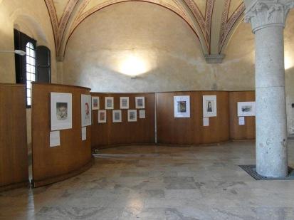 TODO Fumetti&Illustrazioni Atrio Palazzo Gambacorti - Notte Bianca in Blu Pisa 2013