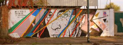 """Chekos' Art """"ART AS METHOD TO UNDERSTAND LIFE, LIFE AS AN ARTWORK"""" Bunker Torino 2013"""