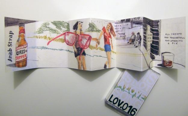 lov. 016 Girls Of Summer (Arab Strap) Silvia Rocchi
