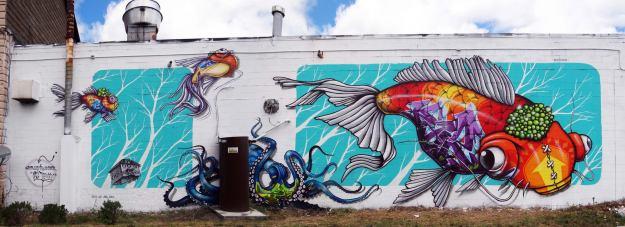 Binho @ Wall Therapy 2013 Rochester NY