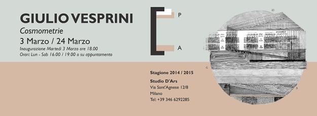 Invito Giulio Vesprini_Cosmometrie