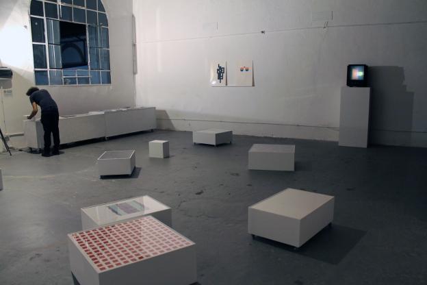 Veduta dell'esposizione ad Artforms