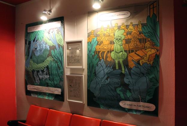 Gigantografie e tavole originali di Francesco Guarnaccia
