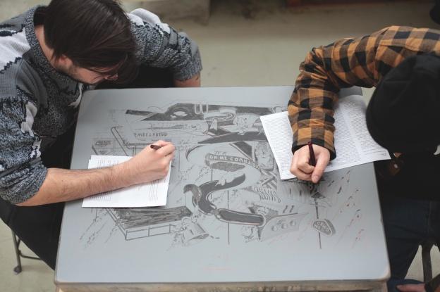 ugo-gattoni-mcbess-sweetbread-lithography-oeuvre-illustration-fine-art-print-collaboration-edition-sol